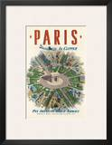 Pan American: Paris by Clipper  c1951