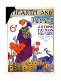 Cover of 'Hearth and Home' Magazine  October 14 1897