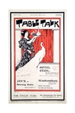 Cover of 'table Talk' Magazine  March 27 1897