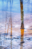 Reflections at Black Sand Basin  Yellowstone