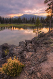 Moody Morning at Sparks Lake