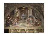 The Expulsion of Heliodorus from the Temple  Stanza Di Eliodoro  1511-12