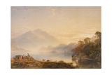 Ben Venue and the Trossachs Seen from Loch Achray  1845
