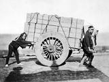 shariki'  or Cart Pushing Coolies  C1870s
