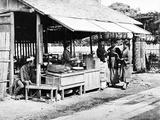 Japanese Street Food Stall  C1860-80