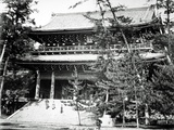 Main Gate to Chion-In Temple  Japan  C 1860-80