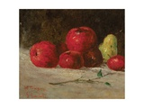 Still Life  Apples and Pears  1871