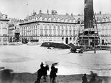 Dismantling of the Vendôme Column  1871