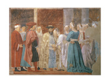The Reception of the Queen of Sheba by King Solomon (C1015-977) from the Legend of the True…