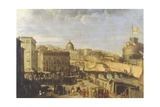 Papal Procession at the Bridge of Sant'Angelo