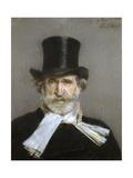 Portrait of Giuseppe Verdi  1880s