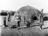 Making Mats in Zululand  C1895
