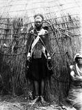 A Zulu Bride  C1895