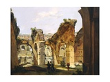 Entrance to the Colosseum and the Old Via Crucis