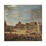 View of St Peter's Square  Rome