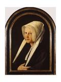 Portrait of Agatha Van Schoonhoven  1529