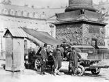 Troops of the Paris Commune in the Place Vendôme  1871