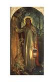 Light of the World, C.1851-53 Giclée par William Holman Hunt