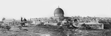 Panorama of Jerusalem  1865