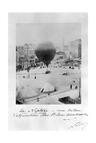 Le Neptune Hot Air Balloon Taking Off from Place St Pierre in Montmatre During the Siege of…