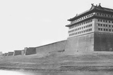 North and East Corner of the Wall of Peking  1860