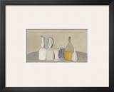 Still Life of Bottles and Pitcher  1946