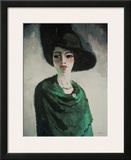 La Femme au Chapeau Noir