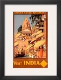 Visit India  Indian State Railways  c1930s