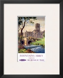 Fountains Abbey  Yorkshire  BR (NER)  c1956