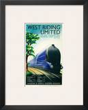 West Riding Limited  Steamline Train  Bradford  Leeds  London