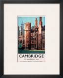 Cambridge It's Quicker by Rail  Peterhouse