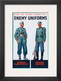 Spot at Sight Chart No 2  Enemy Uniforms  German Parachutist  German Soldier