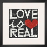 Love Is Real Grunge Square