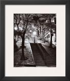 Escalier  Montmartre  c1950