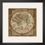 Damask World Map II