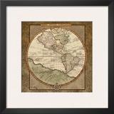 Damask World Map I