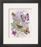 Hydrangea Butterflies II