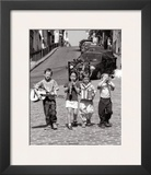 Boys' Band  Montmartre  Paris  c1999