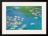 Water Lilies  c1908 (detail)