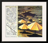 The Yellow Umbrellas II