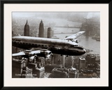 New York  New York  Flying Over Manhattan  1946