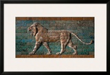 Babylon Lion in Glazed Brick Relief