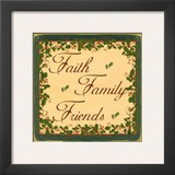 Christmas Holly  Faith Family Friends