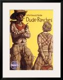 Santa Fe Railroad  Southwestern Dude Ranches