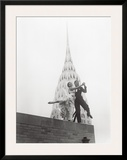 Dancing by Chrysler Building