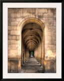 Archway through Manchester  England