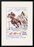 Horse Race  St Moritz