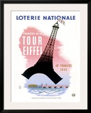 French Lottery  Eiffel Tower