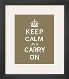 Keep Calm And Carry On VII