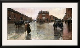 Rainy Day  Boston  1885